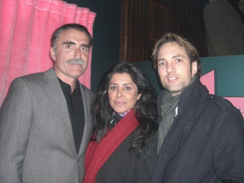 Juan y Medio, Maria Pineda e Ismael Beiro