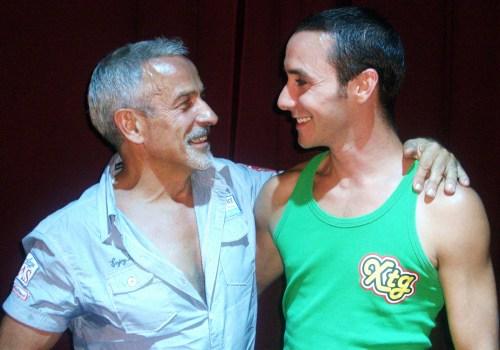 Víctor Ullate y Jacob Hernández tras la entrevista