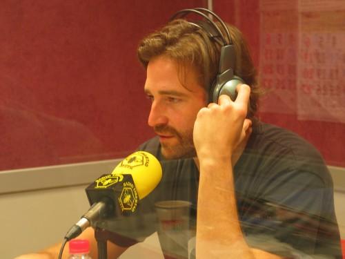Fernando Gil durante la entrevista a Efecto Madrid en Radio Libertad