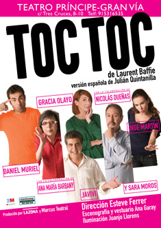 cartel Toc Toc