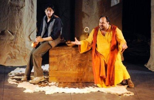 Israel Ruiz acompaña a Juanma Cifuentes en El Juglar del Cid