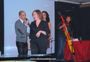 La cantautora uruguaya interpretó dos temas en la fiesta de Efecto Madrid